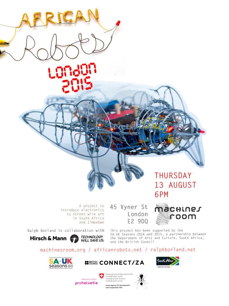 African Robots London 2015